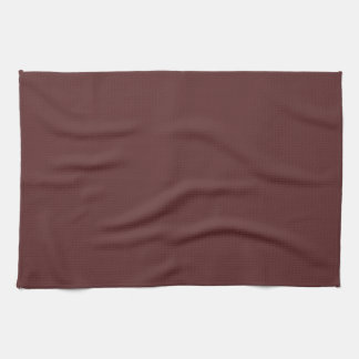 Hanover Red Maroon Background. Chic Fashion Color Hand Towel