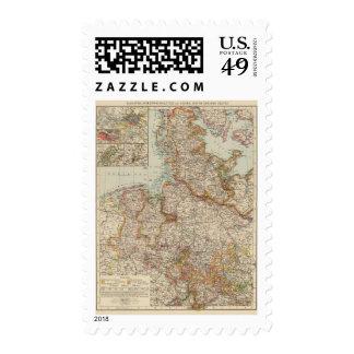 Hanover, Schleswig Holstein Postage Stamp