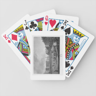 Hanover Square, from a set of four views of London Bicycle Playing Cards