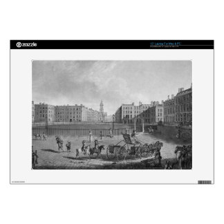 Hanover Square, from a set of four views of London Laptop Skin