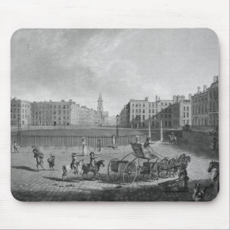 Hanover Square from a set of four views of London Mouse Pads