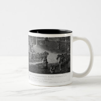 Hanover Square, from a set of four views of London Two-Tone Coffee Mug