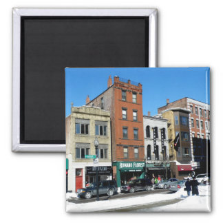 Hanover Street 2 Inch Square Magnet