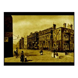 Hanover Street, and the Bank of England, c1850s Postcard