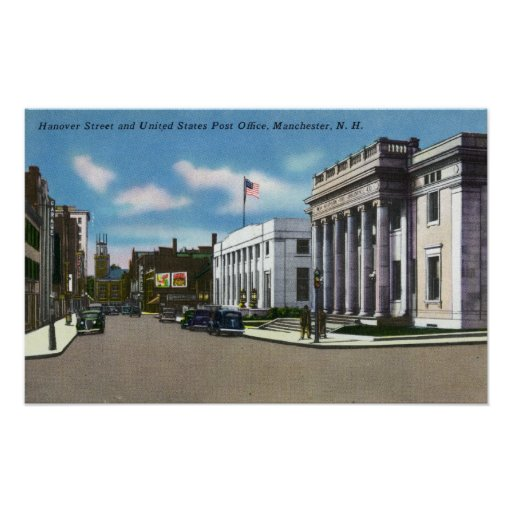 Hanover Street View of the Post Office Poster