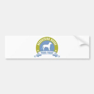 Hanoverian Hound Bumper Stickers