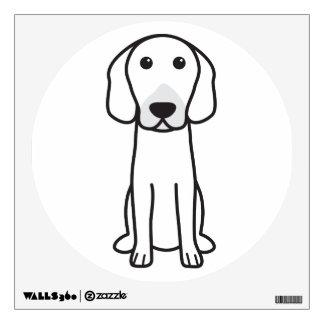 Hanoverian Hound Dog Cartoon Wall Sticker