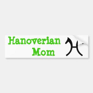 Hanoverian Mom - Bumper Sticker Car Bumper Sticker