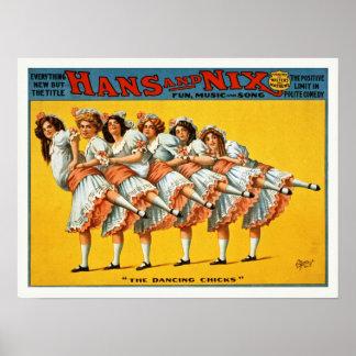Hans and Nix Vintage Poster
