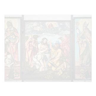 Hans Baldung: Altar de St. John el Bautista Membrete