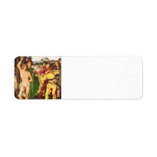 Hans Baldung- Altarpiece with The Martyrdom Return Address Labels