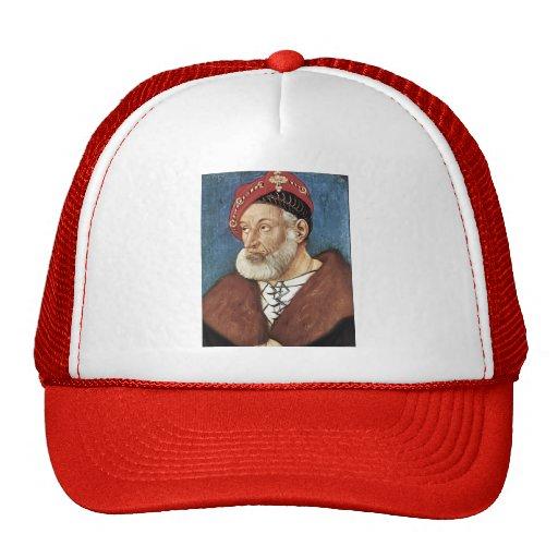 Hans Baldung: Count Christoph I Of Baden Mesh Hat