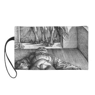 Hans Baldung Sleeping Groom and Sorceress Wristlets