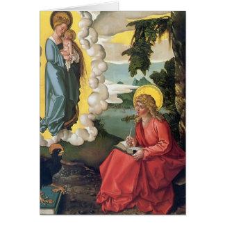 Hans Baldung: St John at Patmos Greeting Card