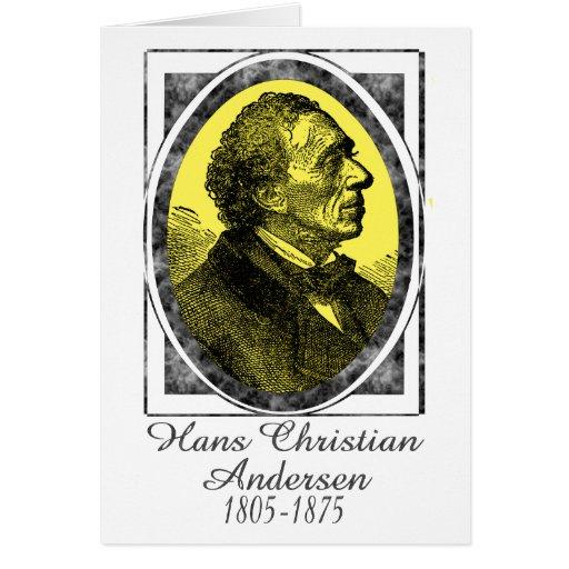 Hans Christian Andersen Card