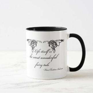Hans Christian Andersen Fairy Tale Quote Gift Mug