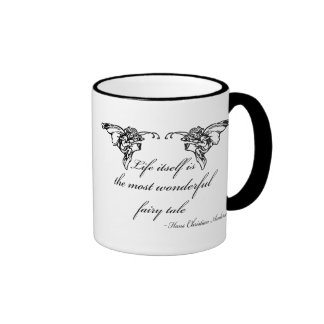 Hans Christian Andersen Fairy Tale Quote Gift Mugs