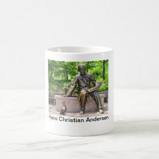 Hans Christian Andersen in Central park Coffee Mug