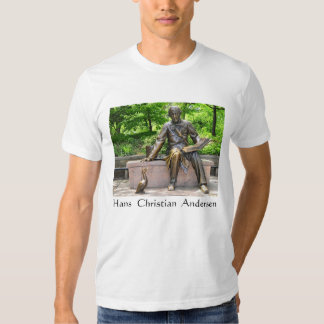 Hans Christian Andersen in Central park T-Shirt