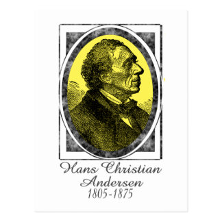 Hans Christian Andersen Postcard