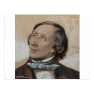 "Hans Christian Andersen ""Sunshine Freedom"" Gifts Postcard"