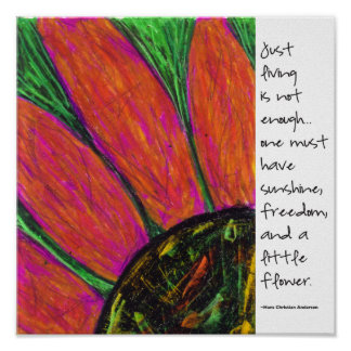 Hans Christian Anderson Quote Posters