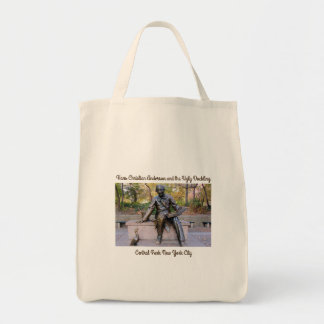 Hans Christian Anderson Statue Tote Bag