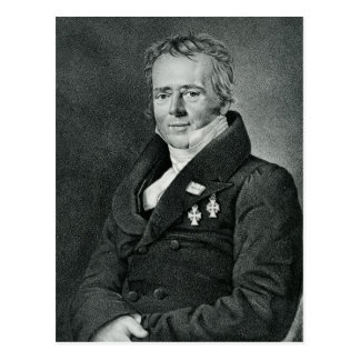 Hans Christian Orsted, engraved by Kaufmann Postcard