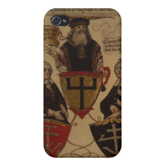 Hans Fugger two wives Clara Widolf and Elisabeth iPhone 4 Cover