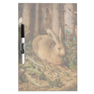 Hans Hoffmann A Hare In The Forest Dry Erase Board