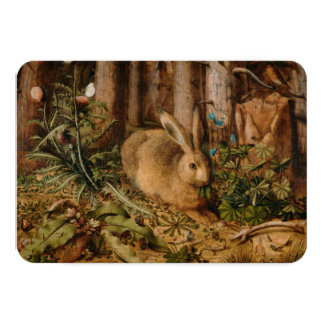 Hans Hoffmann A Hare In The Forest Personalized Invites