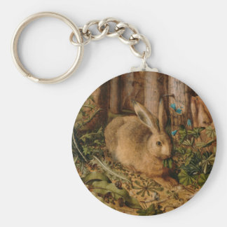Hans Hoffmann A Hare In The Forest Keychain