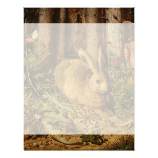 Hans Hoffmann A Hare In The Forest Letterhead