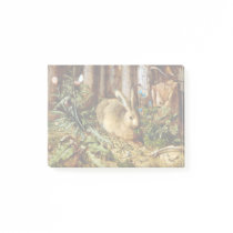 Hans Hoffmann A Hare in the Forest Post-it Notes