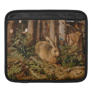 Hans Hoffmann A Hare In The Forest Sleeve For iPads