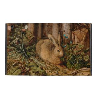 Hans Hoffmann una liebre en el bosque