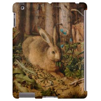 Hans Hoffmann una liebre en el bosque Funda Para iPad