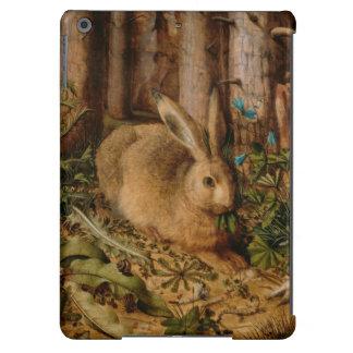 Hans Hoffmann una liebre en el bosque Funda Para iPad Air