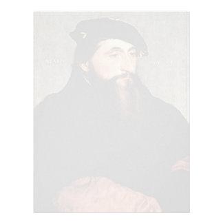 Hans Holbein - duque Antón el bueno de Lorena Plantilla De Membrete