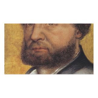 Hans Holbein el autorretrato más joven Tarjeta De Negocio