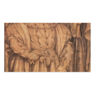 Hans Holbein- Henry VIII and Henry VII Business Card Templates