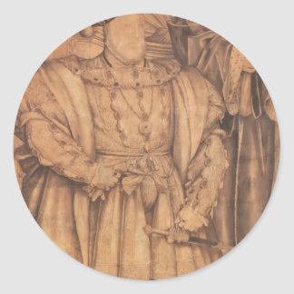 Hans Holbein- Henry VIII and Henry VII Stickers