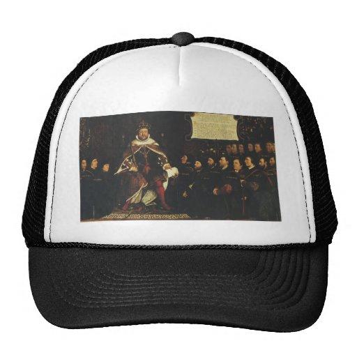 Hans Holbein-Henry VIII handing over a charter Mesh Hat