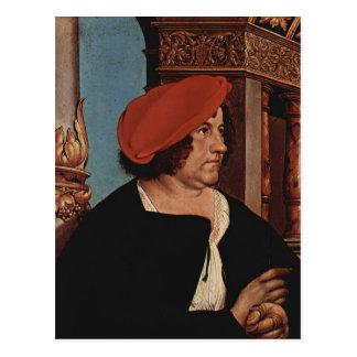 Hans Holbein- Mayor Jakob Meyer zum Hasen Postcard