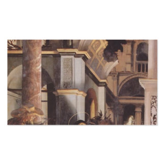 Hans Holbein - Oberried Altarpiece Business Cards