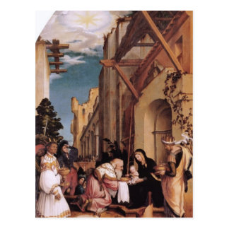 Hans Holbein-Oberried Altarpiece Post Card
