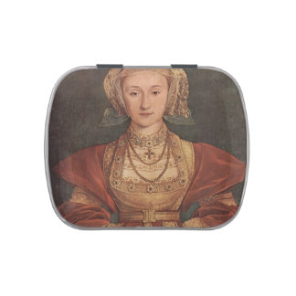 Hans Holbein- Portrait of Anne of Cleves Candy Tins