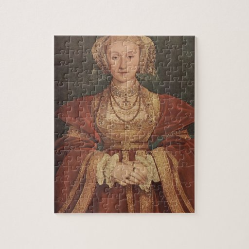 Hans Holbein- Portrait of Anne of Cleves Puzzle