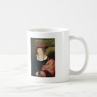 Hans Holbein- Portrait of Benedikt von Hertenstein Classic White Coffee Mug
