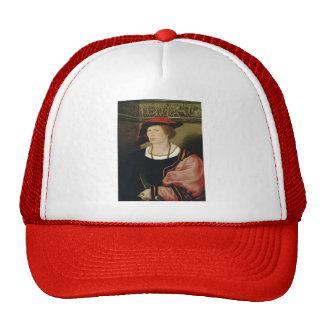 Hans Holbein- Portrait of Benedikt von Hertenstein Trucker Hats